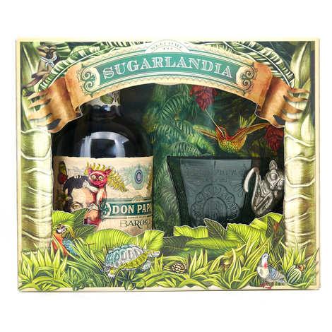 Bleeding heart rum company - Coffret cadeau Don Papa Baroko 1 verre