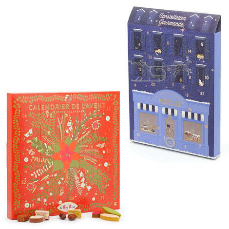 - Advent calendars set with Mercier chocolate and Le Roy René sweets