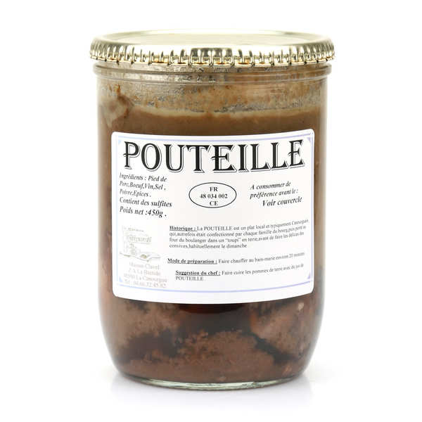 Speciality from Lozère: Pouteille