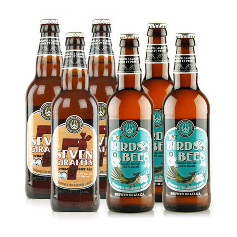 Williams Bros Brewing - Assortment of 6 Williams Bros Brewing beers