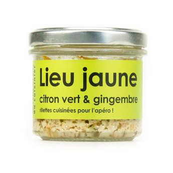 L'Atelier du Cuisinier - Lieu jaune au gingembre et citron vert – cuisiné, à tartiner