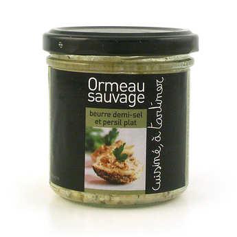 L'Atelier du Cuisinier - Ormeau - beurre demi-sel, ail et persil – cuisiné, à tartiner