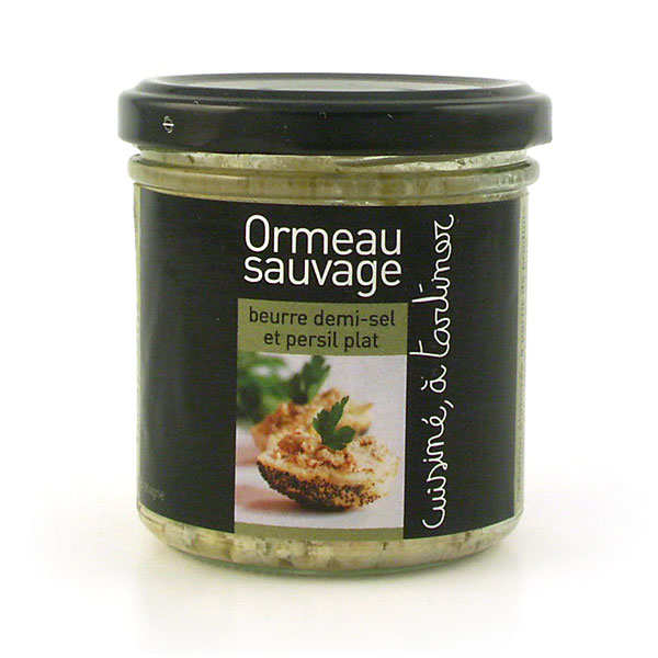 Ormeau beurre demi sel ail et persil cuisin for Ail sauvage cuisine