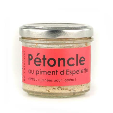 L'Atelier du Cuisinier - Noix de pétoncle au petit piment d'Espelette – cuisiné, à tartiner