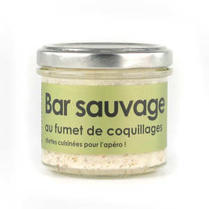 L'Atelier du Cuisinier - Wild sea perch with a shellfish sauce