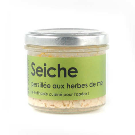 L'Atelier du Cuisinier - Cuttlefish with seaweed salad