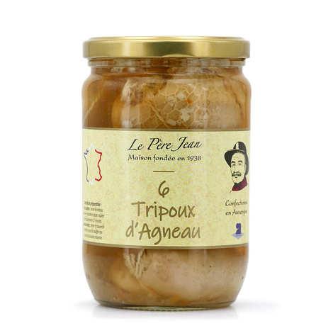 Le Père Jean - Tripoux - Recette de Saint Flour