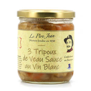 Le Père Jean - Tripe from the Auvergne cooked with white wine