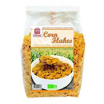 Celnat - Organic Traditional corn flakes