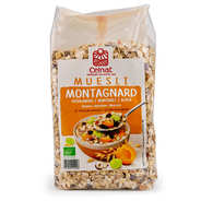Muesli montagnard bio - 24% fruits secs