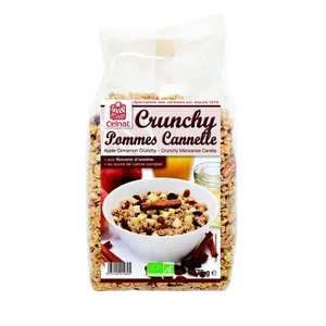 Celnat - Organic Apple and cinnamon crunchy cereal