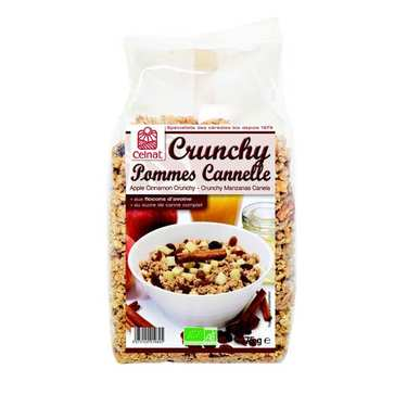 Crunchy pommes cannelle bio