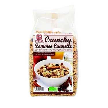 Organic Apple and cinnamon crunchy cereal