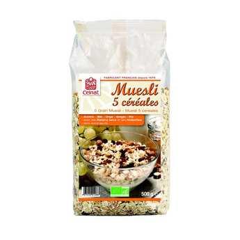 Celnat - Muesli 5 céréales bio