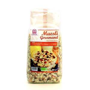 Celnat - Muesli gourmand bio - 27% fruits secs