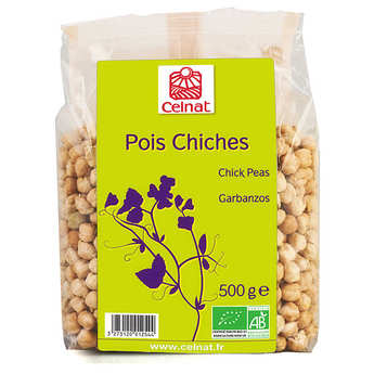 Celnat - Pois chiches bio de France