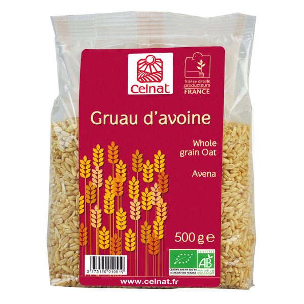 Organic whole oats