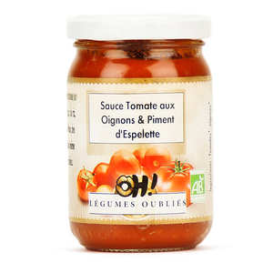 Oh ! Légumes oubliés - Tomato sauce with onions and Espelette chilli