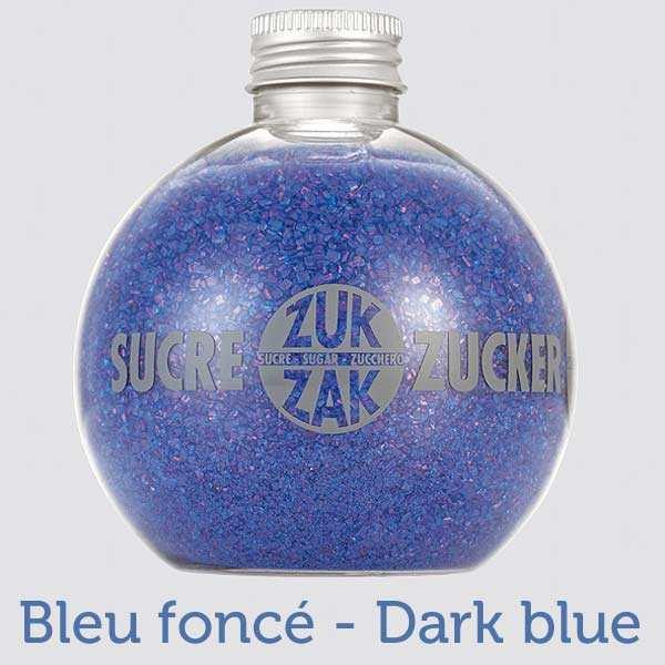 Coloured sugar globe shaker