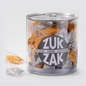 Zuk-Zak - 40 mini-berlingots of coloured sugar - gold and silver