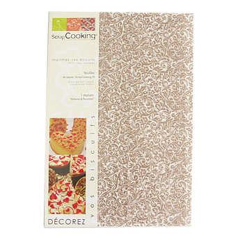 """ScrapCooking ® - Papier décor alimentaire """"Versailles"""""""
