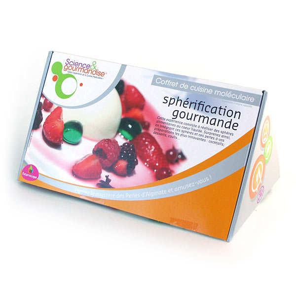 Coffret de cuisine mol culaire sph rification gourmande for Spherification cuisine moleculaire