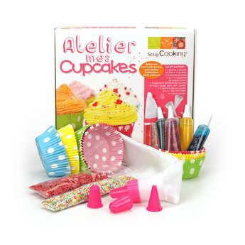 """ScrapCooking ® - Coffret atelier """"je fais mes cupcakes"""""""