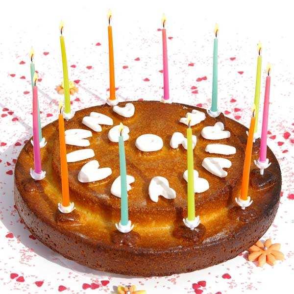 """Moule  """"bon anniversaire"""""""