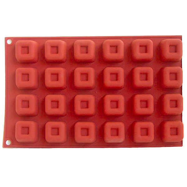 Moule apérocooking ® carré - moule 24 pièces
