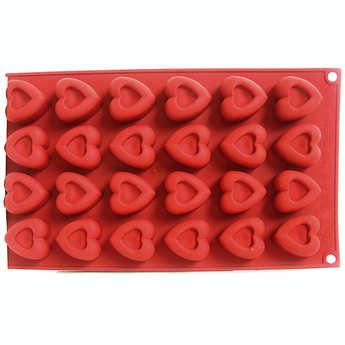 Silikomart - Heart canapé mould