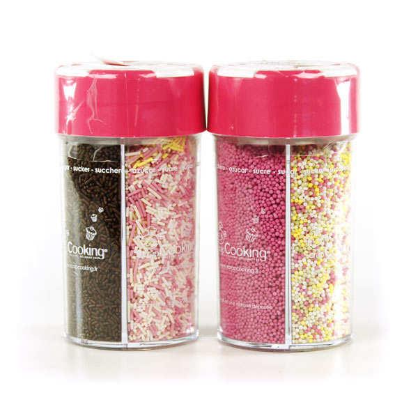 ScrapCooking ® four colour sugar shaker