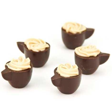 Michel Cluizel - Cappuccino chocolates by Michel Cluizel
