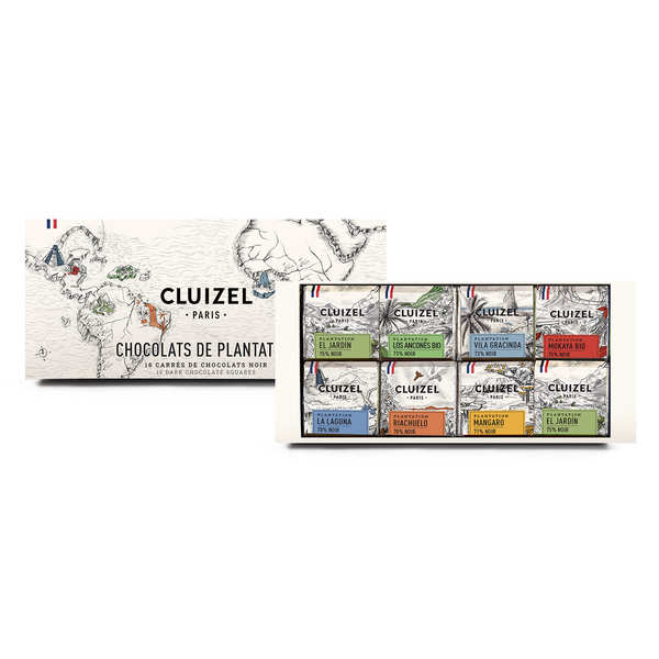 Single estate chocolates from Michel Cluizel