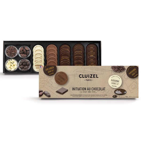 """Le coffret cadeau chocolat """"il était une fève..."""" de Michel Cluizel"""