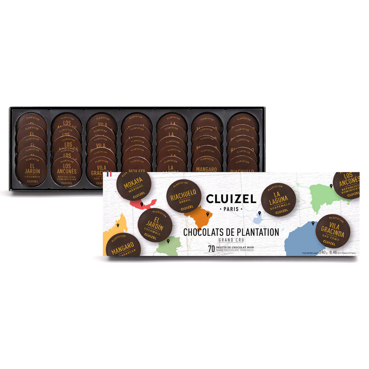 Selection of 70 Premier Cru Chocolates by Michel Cluizel