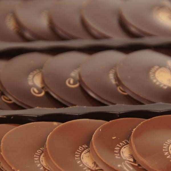 Nuancier de chocolats premiers crus de plantation Michel Cluizel