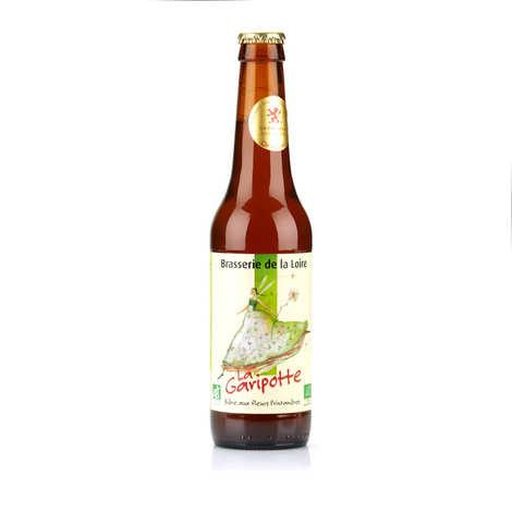 Brasserie de la Loire - Garipotte - bière à la fleur de sureau bio 5.5%