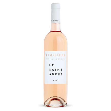 Figuière - Famille Combard - Le Saint André vin Rosé - IGP Var