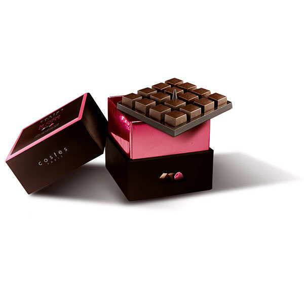 Costes Paris - milk chocolate and raspberry ganache