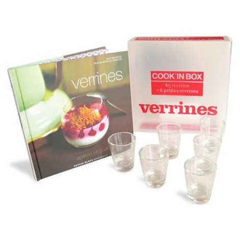 Editions Marabout - Verrines cook'in box - Livre de José Maréchal et 6 petites verrines