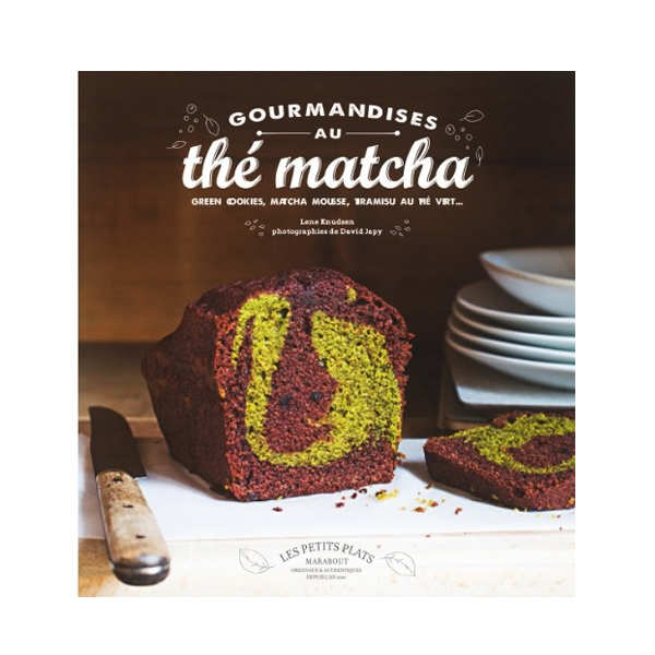 Gourmandises au thé matcha by L. Knudsen (french book)
