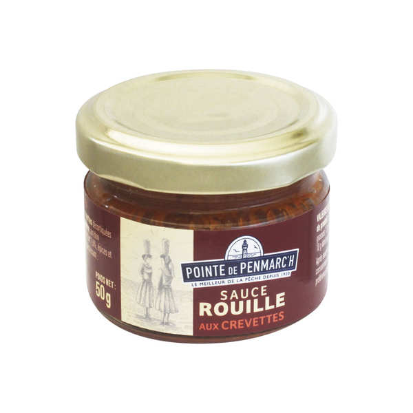 Rouille sauce with prawns