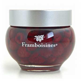 Grandes Distilleries Peureux - Framboisines® - Framboises à l'eau de vie