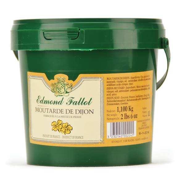 Moutarde de Dijon - le seau de 1.1kg