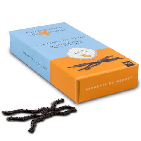 Mademoiselle de Margaux - Sarments du Médoc chocolat noir orange - l'étui