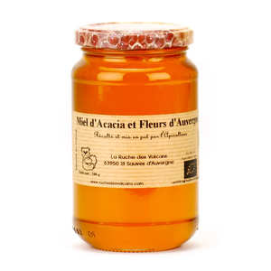 La Ruche des Volcans - Acacia and flowers honey - Organic