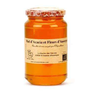 Miel d'acacia et fleurs d'Auvergne bio