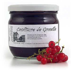 Gaec d'Ispagnac - Martine Boyer - Red-currant jam