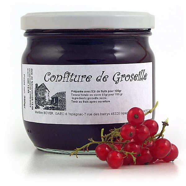 Confiture de groseille - Languedoc