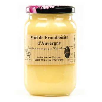 La Ruche des Volcans - Raspberry honey jar